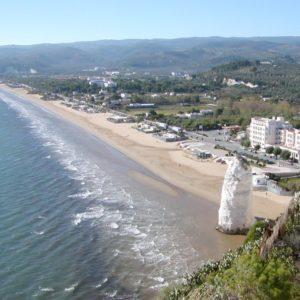 spiaggia castello